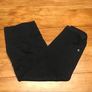 Lululemon Yoga black Sweatpants Sz 12 Xl